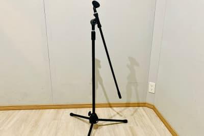 マイクスタンド 3本 貸出無料 - PSQ studio 1名〜少人数用の防音スタジオの設備の写真