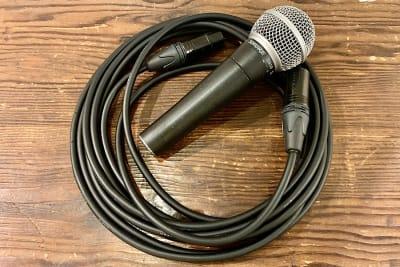 マイク 2本 貸出無料 - PSQ studio 1名〜少人数用の防音スタジオの設備の写真