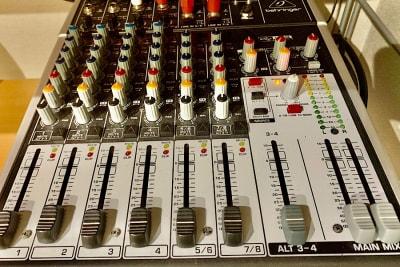 音響ミキサー 1台 スタジオ常設 - PSQ studio 1名〜少人数用の防音スタジオの設備の写真