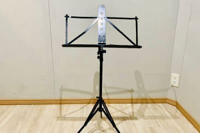 譜面台 3脚 貸出無料 - PSQ studio 1名〜少人数用の防音スタジオの設備の写真