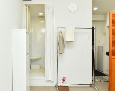フィッティングルームもあります - 1cho room 青山一丁目・外苑前すぐ✨の設備の写真