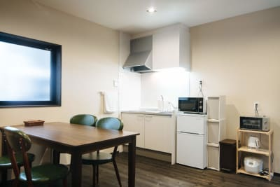 1階のリビング - Azuki旅音 リビングの室内の写真