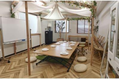 室内全景 パノラマ Sabori The 3026 神楽坂 - Sabori 飯田橋 302 多目的レンタルスペースの室内の写真