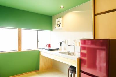 Hyotan旅音 リビングの室内の写真