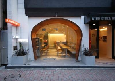 炭火焙煎珈琲.凛 eats+店の入口の写真