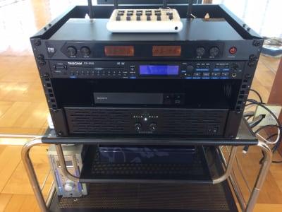 あらゆる外部入力に対応できる4chミキサー。 - ナカガワスタジオ レンタルスペースの設備の写真