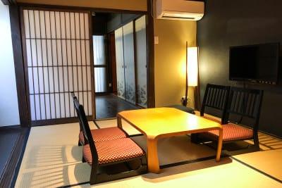 京町家の雰囲気を残したまま使いやすくなるように手を入れています - 京小宿 古川みやび 京町家レンタルスペースの室内の写真