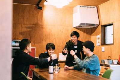 Ekichika旅音 リビングの室内の写真