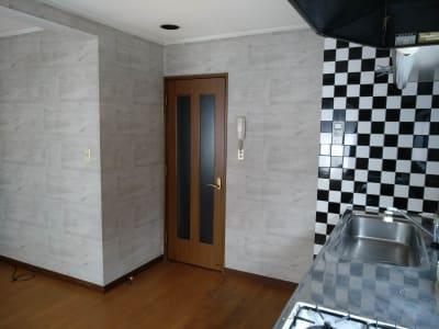 お部屋の入り口 - Reborn キッチンスペースCの室内の写真