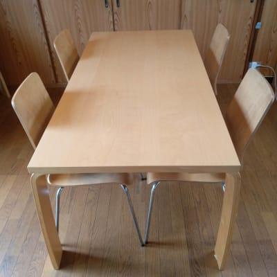 テーブル75X150 2台 貸出可能 - Reborn キッチンスペースCの設備の写真