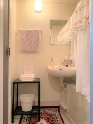 手洗い場 - レンタルサロンプリュムブランシェ ルーム  Calme(カルム)の設備の写真