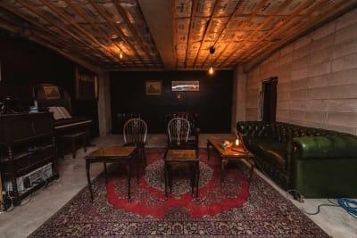 ステージ側から見た景色 - 黒門カルチャーファクトリー 撮影スタジオの室内の写真