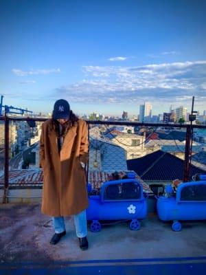 ビンテージビル 屋上スペースの柵は味わい抜群、撮影等に最適です。 - DK BLUESTUDIO 屋上スタジオの室内の写真