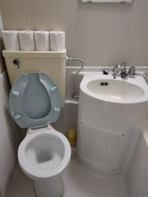 トイレ&洗面所 - レンタル仕事部屋 向ヶ丘遊園駅の設備の写真
