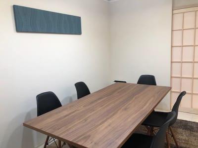 少人数のミーティングにもおすすめ - 【forspace渋谷本町】 多目的スペースの室内の写真