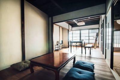 Tenjin旅音 リビングの室内の写真