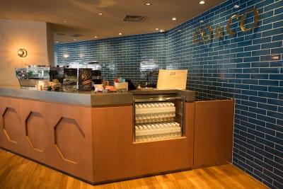 カフェカウンター - スペースカンテ京都の設備の写真