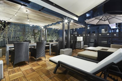 Lounge-R TERRACE 撮影プランの室内の写真