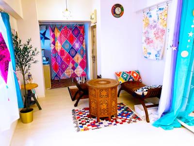 常設の応接エリア - リアド・ステラ 完全個室貸切レンタルサロンの室内の写真