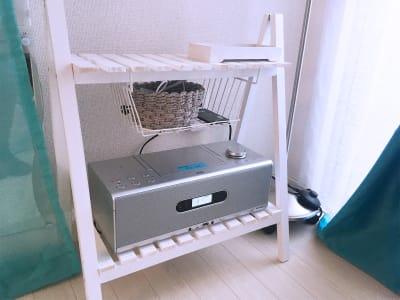 CD&blutooth 音楽プレイヤー - リアド・ステラ 完全個室貸切レンタルサロンの設備の写真