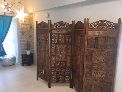 パーテーション - リアド・ステラ 完全個室貸切レンタルサロンの設備の写真