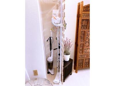 掃除道具収納エリア - リアド・ステラ 完全個室貸切レンタルサロンの設備の写真