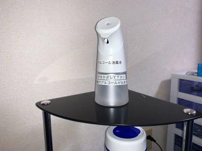 アルコール消毒液 - GS川崎貸会議室 テレワークや会議に最適な貸会議室の設備の写真