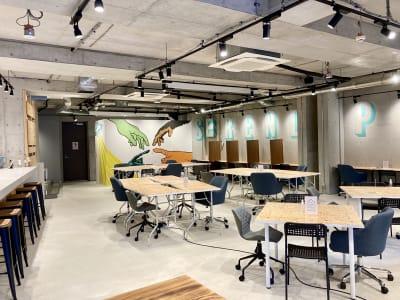 全体写真 - いいオフィス下北沢 イベントスペースの室内の写真