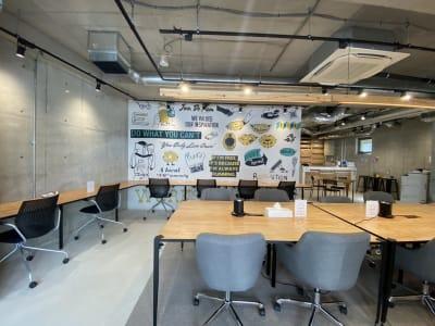 一部スペース - いいオフィス下北沢 レンタルスペースの室内の写真