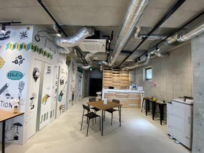 受付 - いいオフィス下北沢 レンタルスペースの室内の写真
