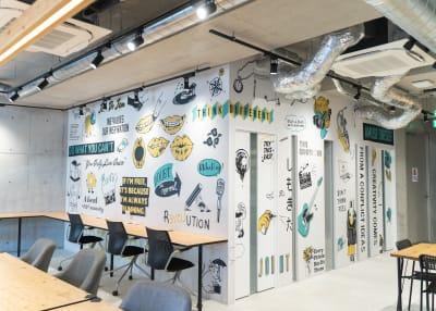 壁 - いいオフィス下北沢 レンタルスペースの室内の写真