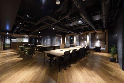 東邦オフィス福岡天神 東邦オフィス天神コワーキングBの室内の写真