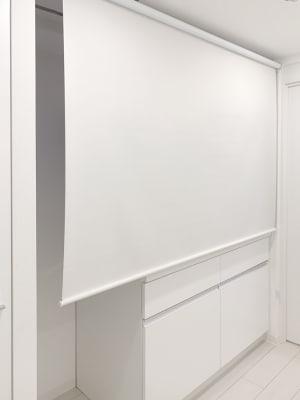 キッチン部分はロールスクリーンで普段は目隠し可能です - レンタルサロンaMieu南青山 aMieu南青山/Vert(緑)のその他の写真
