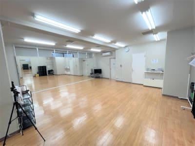 スタジオ内3 - れんたるスタジオMINT レンタルスタジオ 1階の室内の写真