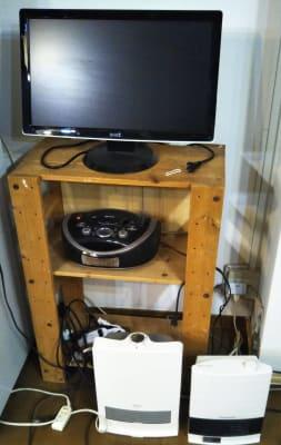 モニター、CD、ファンヒーター - Domahouse フリースペースの設備の写真