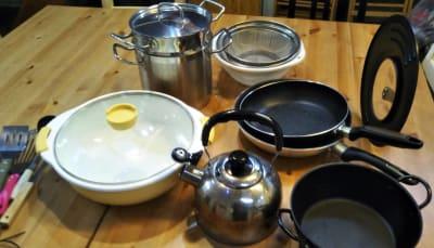 鍋など (お使いいただけます) - Domahouse フリースペースの設備の写真