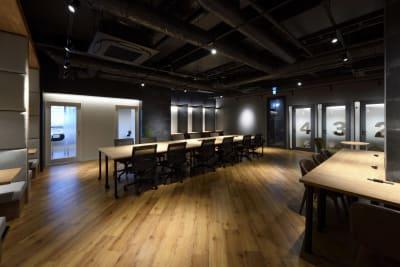 東邦オフィス福岡天神 東邦オフィス天神コワーキングDの室内の写真