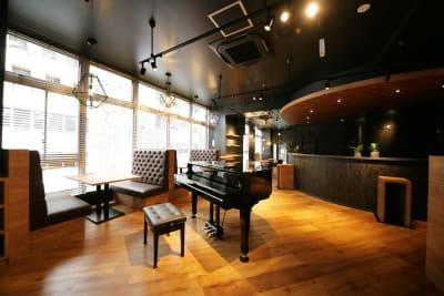 ラウンジの風景 - 東邦オフィス福岡天神 東邦オフィス天神コワーキングDの室内の写真