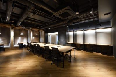 東邦オフィス福岡天神 東邦オフィス天神コワーキングIの室内の写真