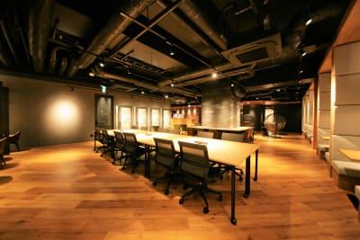東邦オフィス福岡天神 東邦オフィス天神コワーキングJの室内の写真