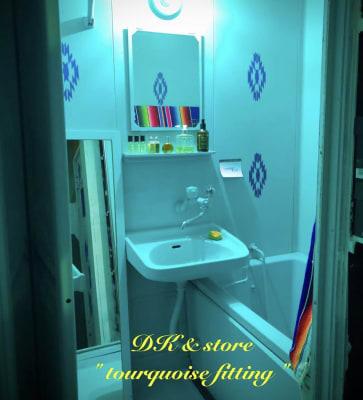 3F tourquoise fitting room フィッティングルーム - D403レンタルBLUEROOM 多目的403ブルールームの設備の写真