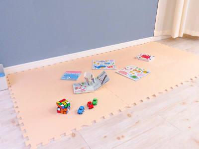 お子様も同伴可能なキッズスペース - salon ole 立地抜群!完全個室の清潔サロン◎の室内の写真