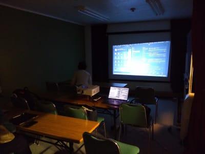 ZOOMミーティング プロジェクター設置イメージ② - 大京クラブ【レンタルスペース】 【多目的スペース】の室内の写真