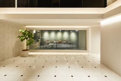 ロビー - アオヤマロッジ 外苑前徒歩3分イベント&スタジオの室内の写真