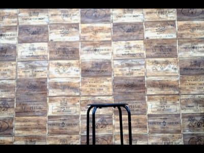 スマスタジオ 映像、撮影スタジオの入口の写真
