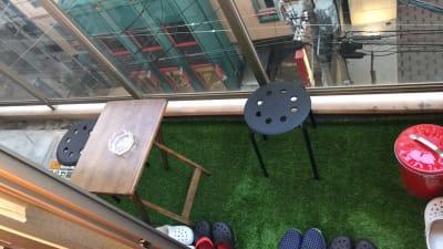 赤坂駅前2分★人狼ハウス福岡天神 メインスペースの室内の写真