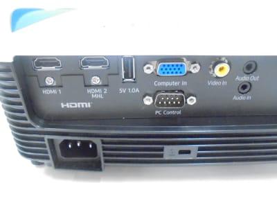 RICOH製のプロジェクター裏面端子部 - 共栄実業(株) 幸福相互ビル うめきた会議室413(最大6名)の設備の写真
