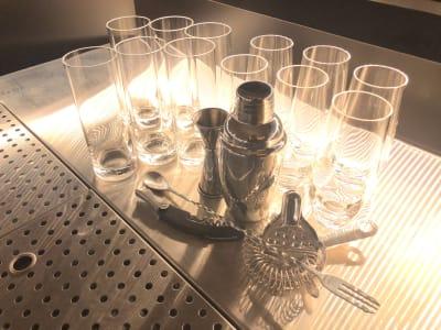 グラス(数に限りがあります) - Rounge 3626 Barのあるデザイナーズラウンジの設備の写真