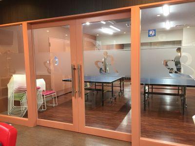 フィットネスクラブ VISTAR スタジオの入口の写真