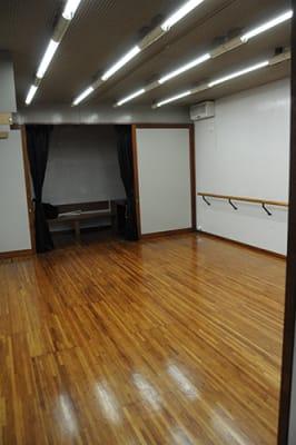 ブレイズスタジオの室内の写真